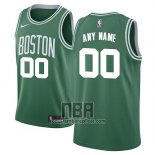Camiseta Boston Celtics Personalizada Icon 2017-18 Verde