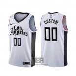 Camiseta Los Angeles Clippers Personalizada Ciudad 2019-20 Blanco