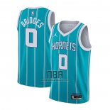 Camiseta Charlotte Hornets Miles Bridges NO 0 Icon 2020-21 Verde