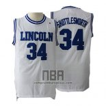 Camiseta Pelicula Lincoln Jesus Shuttlesworth NO 34 Blanco