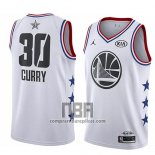 Camiseta All Star 2019 Golden State Warriors Stephen Curry NO 30 Blanco