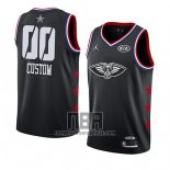 Camiseta All Star 2019 New Orleans Pelicans Personalizada Negro