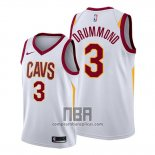 Camiseta Cleveland Cavaliers Andre Drummond NO 3 Association 2019-20 Blanco