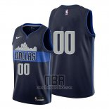Camiseta Dallas Mavericks Personalizada Statement 2017-18 Azul