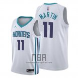 Camiseta Charlotte Hornets Cody Martin NO 11 Association Blanco