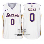 Camiseta Nino Los Angeles Lakers Kyle Kuzma NO 0 Association 2017-18 Blanco