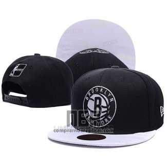 Gorra Brooklyn Nets Negro Blanco