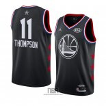 Camiseta All Star 2019 Golden State Warriors Klay Thompson NO 11 Negro
