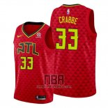 Camiseta Atlanta Hawks Allen Crabbe NO 33 Statement Rojo