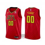 Camiseta Atlanta Hawks Jeff Teague NO 0 Statement 2020-21 Rojo