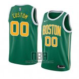 Camiseta Boston Celtics Personalizada Earned 2018-19 Verde