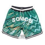 Pantalone Seattle Supersonics Just Don Verde
