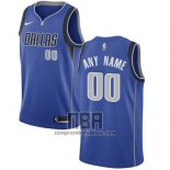 Camiseta Dallas Mavericks Personalizada 2017-18 Azul