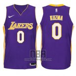Camiseta Nino Los Angeles Lakers Kyle Kuzma NO 0 Statement 2017-18 Violeta