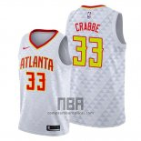 Camiseta Atlanta Hawks Allen Crabbe NO 33 Association Blanco