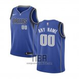 Camiseta Nino Dallas Mavericks Personalizada 2017-18 Azul