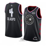 Camiseta All Star 2019 Indiana Pacers Victor Oladipo NO 4 Negro