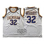 Camiseta Pelicula Crenshaw Monica Wright NO 32 Blanco