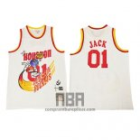Camiseta Houston Rockets x Cactus Jack NO 01 Blanco
