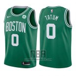 Camiseta Nino Boston Celtics Jayson Tatum NO 0 Icon 2017-18 Verde