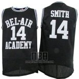 Camiseta Pelicula Bel-Air Academy Smith NO 14 Negro
