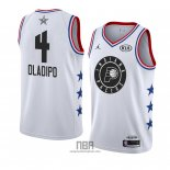 Camiseta All Star 2019 Indiana Pacers Victor Oladipo NO 4 Blanco