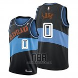 Camiseta Cleveland Cavaliers Kevin Love NO 0 Classic Edition 2019-20 Negro