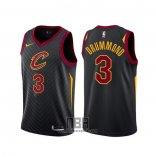 Camiseta Cleveland Cavaliers Andre Drummond NO 3 Statement Negro