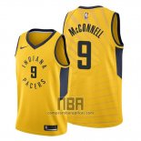 Camiseta Indiana Pacers T.j. Mcconnell NO 9 Statement 2019-20 Oro