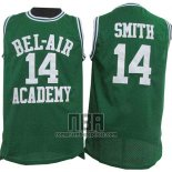 Camiseta Pelicula Bel-Air Academy Smith NO 14 Verde
