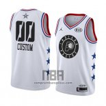 Camiseta All Star 2019 Indiana Pacers Personalizada Blanco