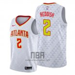 Camiseta Atlanta Hawks Cam Reddish NO 2 Association 2019-20 Blanco
