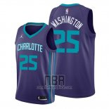Camiseta Charlotte Hornets P. J. Washington NO 25 Statement 2019-20 Violeta