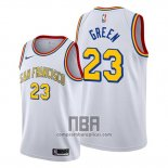 Camiseta Golden State Warriors Draymond Green NO 23 Classic Edition 2019-20 Blanco