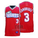 Camiseta Pelicula Knights Calvin Cambridge NO 3 Rojo