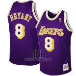 Camiseta Nino Los Angeles Lakers Kobe Bryant NO 8 Retro Violeta