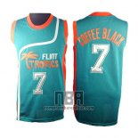 Camiseta Pelicula Flint Tropscs Coffee Black NO 7 Verde
