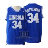 Camiseta Pelicula Lincoln Jesus Shuttlesworth NO 34 Azul