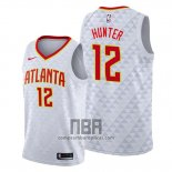 Camiseta Atlanta Hawks De'andre Hunter NO 12 Association Blanco