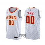 Camiseta Atlanta Hawks Jeff Teague NO 0 Association 2020-21 Blanco