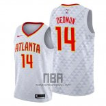 Camiseta Atlanta Hawks Dewayne Dedmon NO 14 Association 2019-20 Blanco