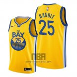 Camiseta Golden State Warriors Chasson Randle NO 25 Statement 2020 Amarillo