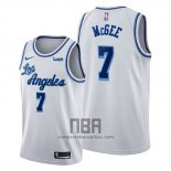 Camiseta Los Angeles Lakers Javale Mcgee NO 7 Classic Edition 2019-20 Blanco