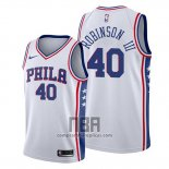 Camiseta Philadelphia 76ers Glenn Robinson III NO 40 Association 2019-20 Blanco