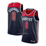 Camiseta Washington Wizards Rui Hachimura NO 8 Statement 2020-21 Azul