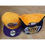 Gorra Los Angeles Lakers Violeta Amarillo