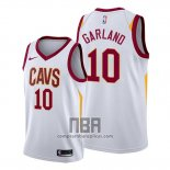 Camiseta Cleveland Cavaliers Darius Garland NO 10 Association 2019-20 Blanco