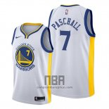 Camiseta Golden State Warriors Eric Paschall NO 7 Association 2019-20 Blanco