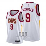 Camiseta Cleveland Cavaliers Dylan Windler NO 9 Association 2019-20 Blanco