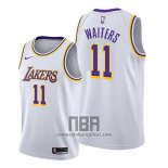 Camiseta Los Angeles Lakers Dion Waiters NO 11 Association 2020 Blanco